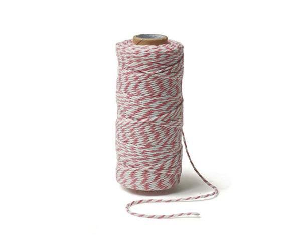 Striped Cotton Baker's Twine (Variety of Colors Available)