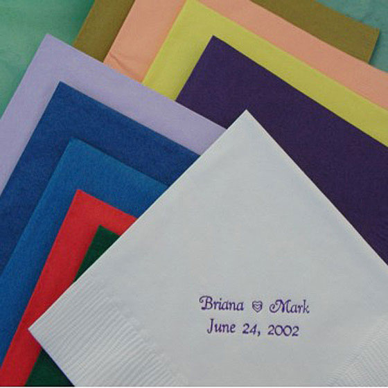 Personalized Napkins (Set of 50)
