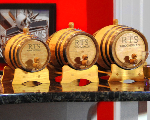 Personalized Bluegrass Whiskey Barrels