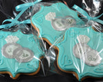 I Do Rings Wedding Cookie