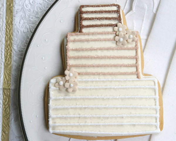 Layered Wedding Cake Cookie