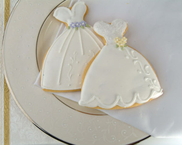Bridal Shower Dress Cookie