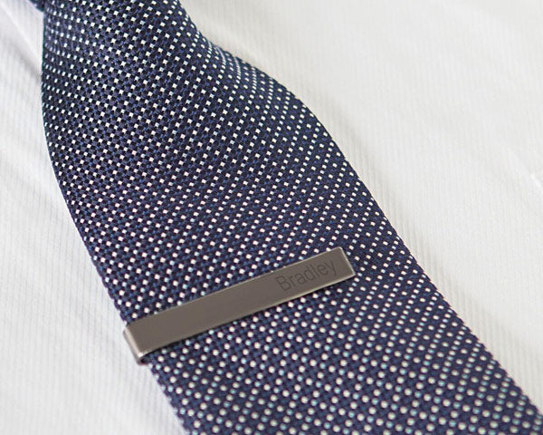 Personalized Tie Clip (Multiple Colors Available)