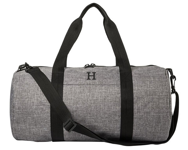 Personalized Duffel Bag (Grey)