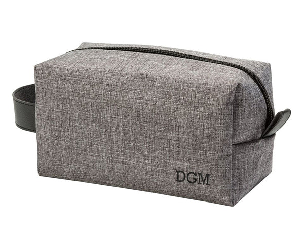 Personalized Toiletry Bag (Grey)