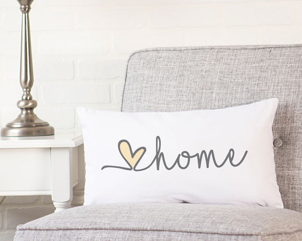 Love Home Lumbar Pillow