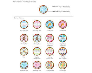 Personalized Exclusive Baby Hershey's Reese's (Many Designs Available)