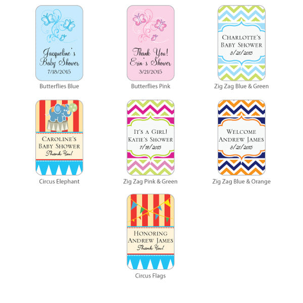 Exclusive Personalized Baby Shower Sunscreen