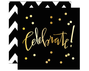 Celebrate Beverage Napkin (20 Count)