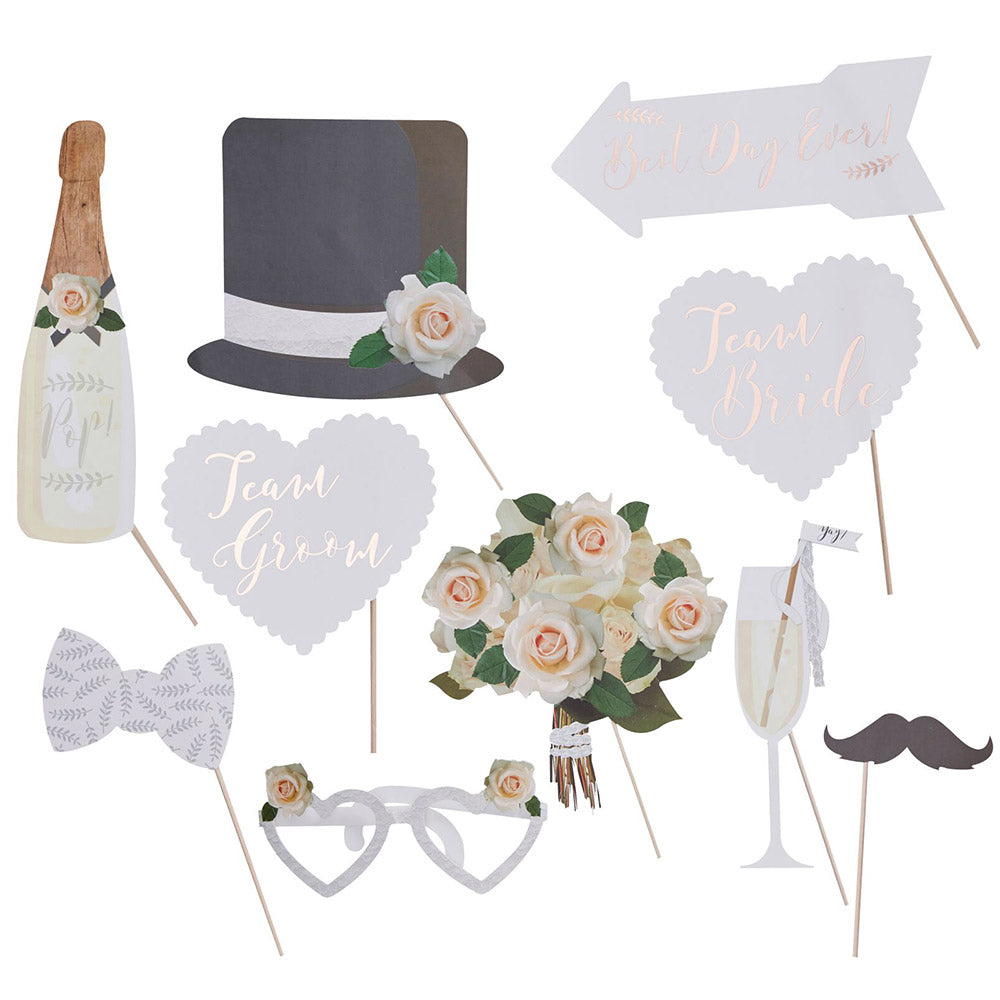 Beautiful Botanics Photo Booth Prop Set