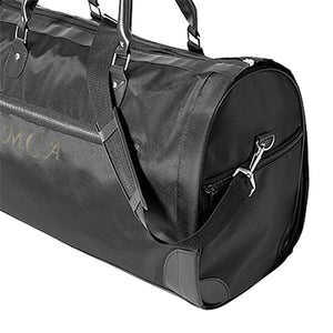 Personalized Women's Microfiber Convertible Garment Bag (Black)