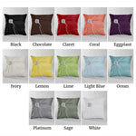 Satin Garbo Ring Pillow (Multiple Colors Available)
