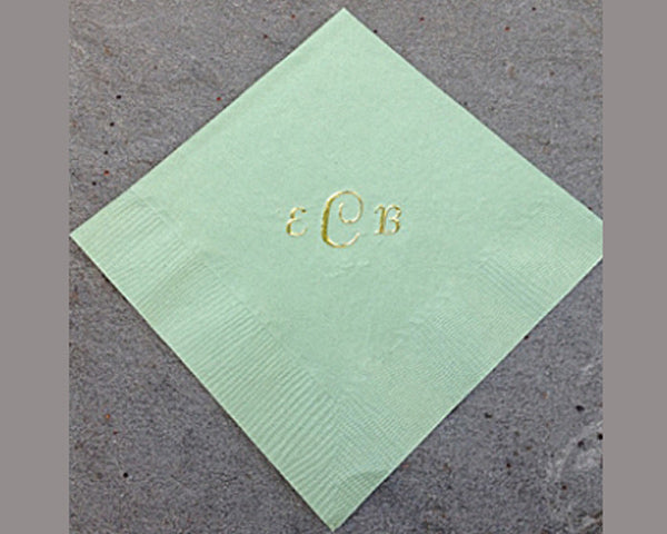Monogram Napkins (Pack of 50)