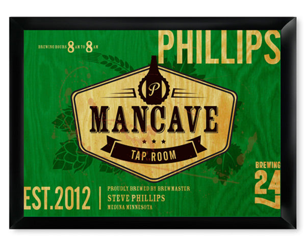 Tap Room Man Cave Pub & Tavern Sign