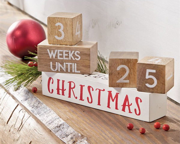 Multi-Holiday Count Down Blocks