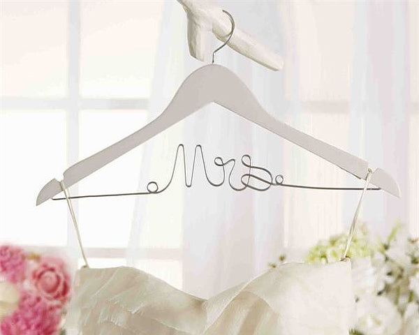 Mrs. Wedding Dress Hanger