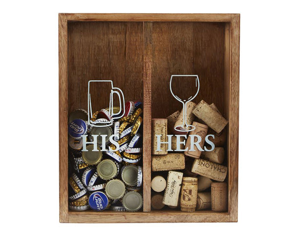 His & Her Cork Display Box