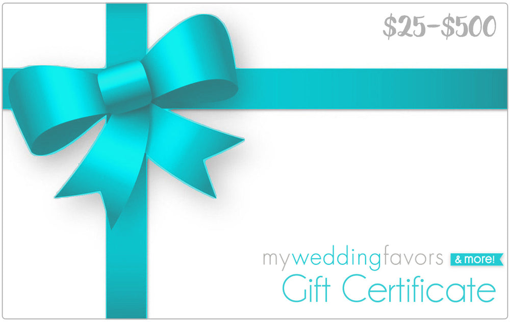 My Wedding Favors Gift Card