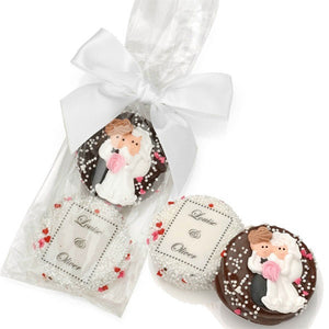 Load image into Gallery viewer, Wedding Chocolate Oreos (Set of 2)