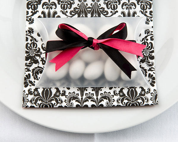 Frosted Pillow Favor Boxes (Set of 12)