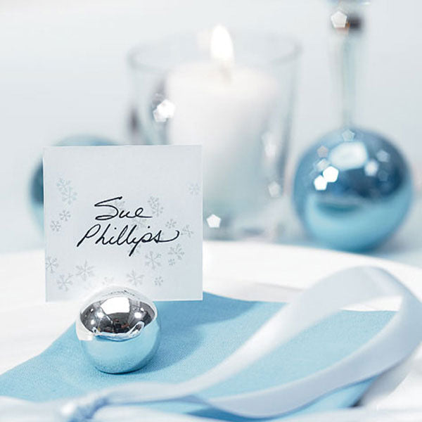 Classic Round Place Card Holders (Set of 8)