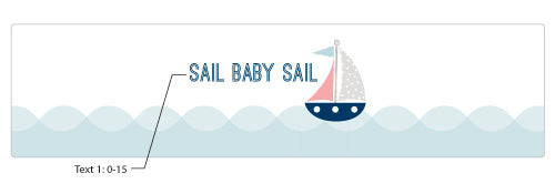 Personalized Nautical Baby Shower Water Bottle Labels