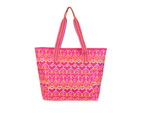 Sunrise Ikat Cooler Tote
