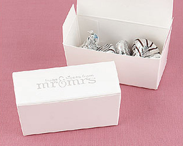 Hugs and Kisses Favor Boxes