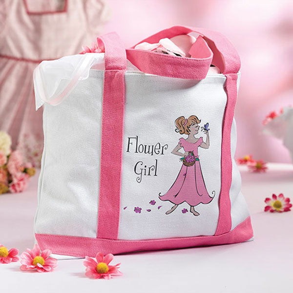 Stop & Smell The Flowers Flower Girl Tote