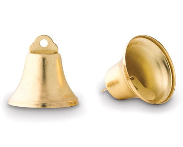 Mini Wedding Kissing Bells (Set of 24) (Available in Gold & Silver)