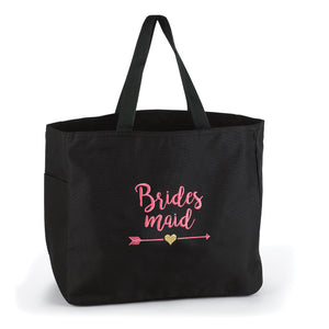Load image into Gallery viewer, Wedding Party Bridesmaid Tribal Tote Bag