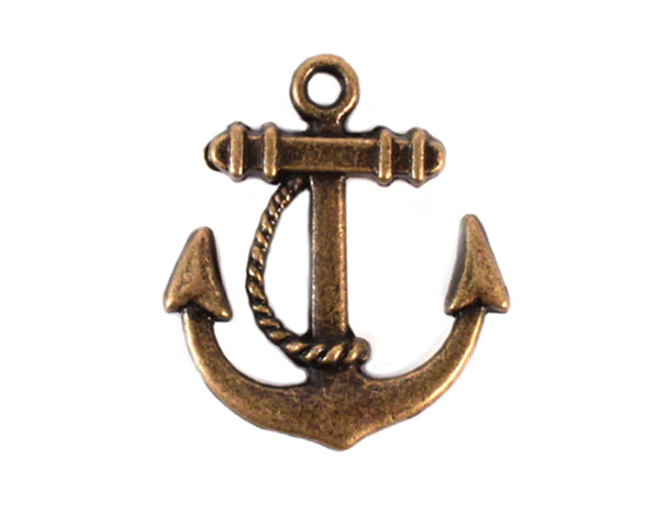 Boat Anchor Charm (Set of 12)