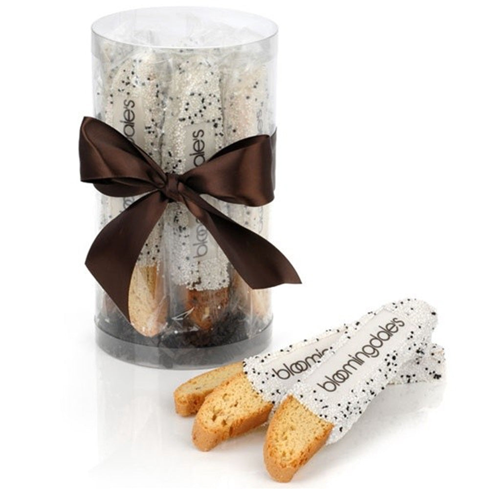 Biscotti Favors - Chocolate-Dipped & Personalized