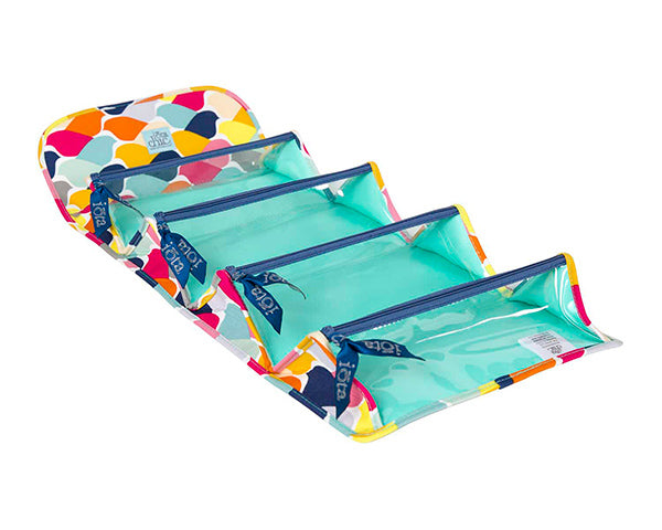 Flock of Color Fold and Go Cosmetic Case