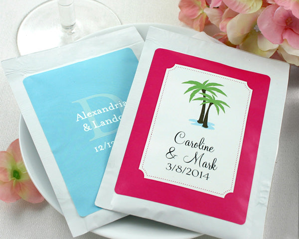Personalized Cosmopolitan Drink Mix Favor (Many Designs Available)