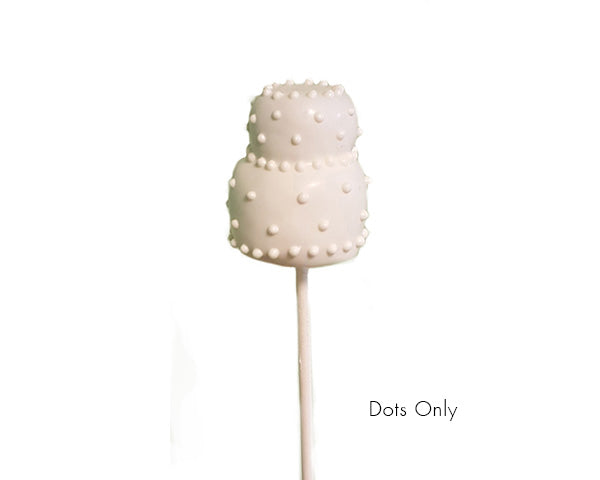 Wedding Cake Pop Favors (Available in Multiple Flavors)