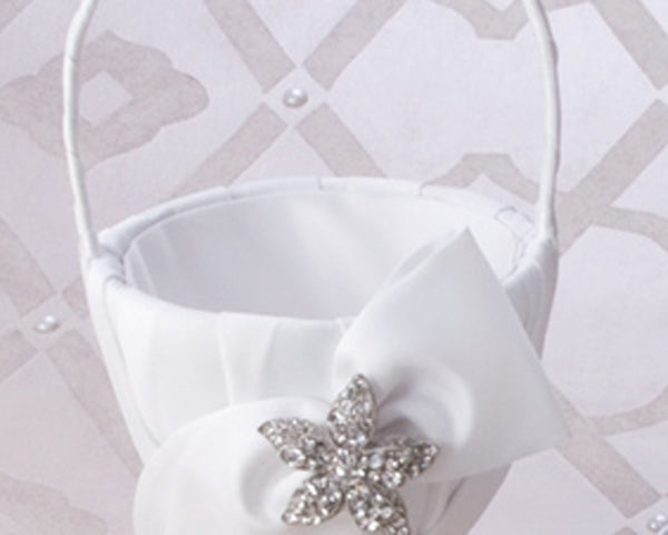 Eva Collection Flower Girl Basket