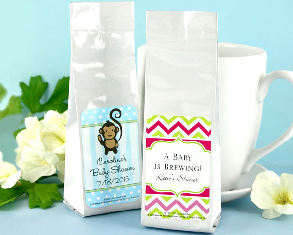 Personalized Exclusive Baby Gourmet Coffee (Many Designs Available) | My Wedding Favors