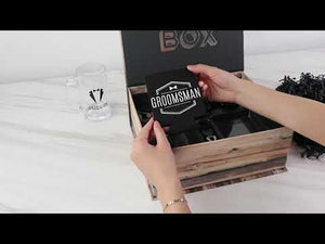 Load and play video in Gallery viewer, Groomsman Kit Gift Box