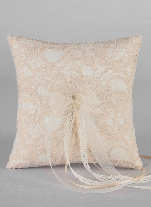 Adelaide Lace Ring Pillow