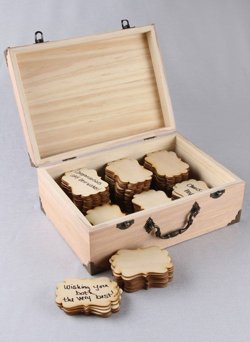 Fancier Wood Guest Cards (Set of 10)