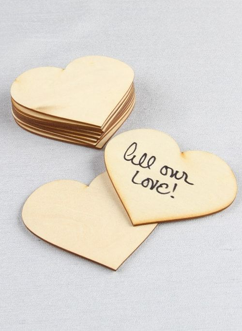 Heart Wood Guest Cards (Set of 10)