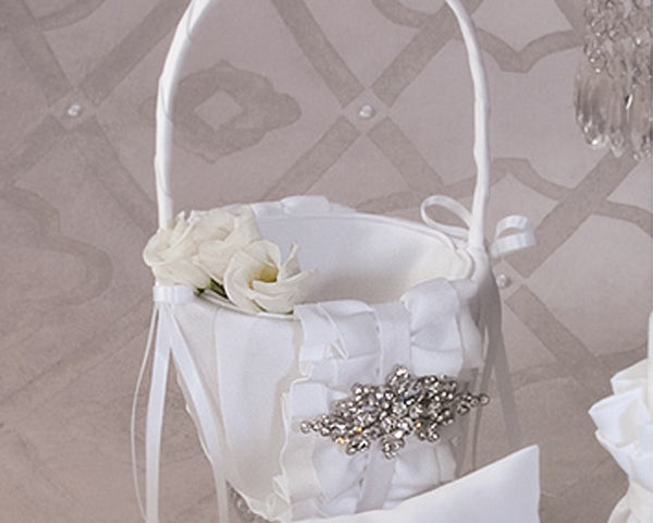 Isabella Collection Flower Girl Basket
