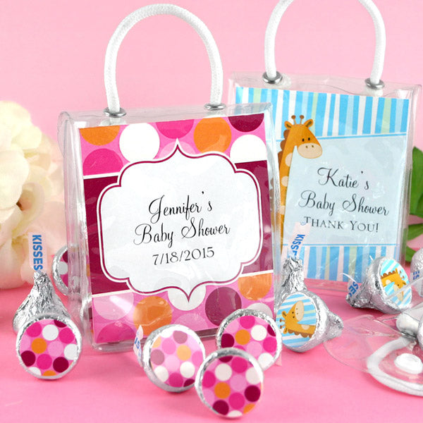 Personalized Exclusive Baby Mini Gift Tote (Many Designs Available) | My Wedding Favors