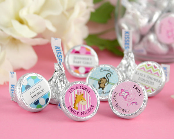 Personalized Exclusive Baby Hershey Kisses (Many Designs Available) | My Wedding Favors