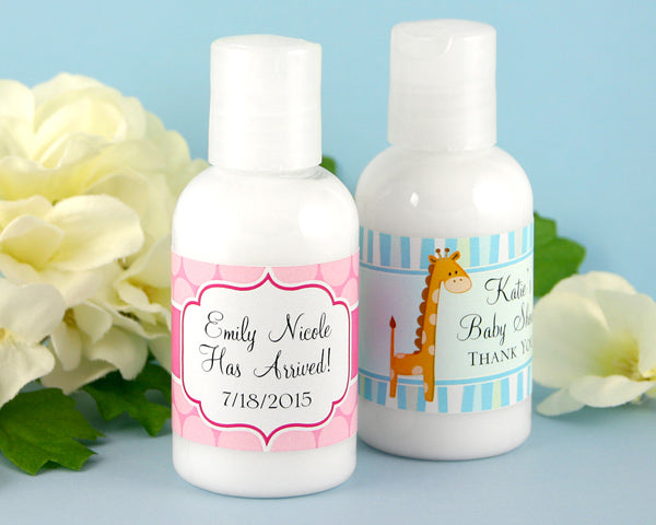 Personalized Exclusive Baby Hand Lotion (Many Designs Available) | My Wedding Favors