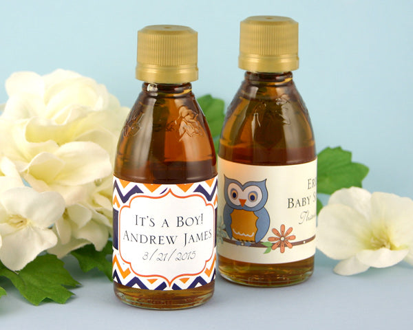 Personalized Exclusive Baby Maple Syrup (Many Designs Available) | My Wedding Favors