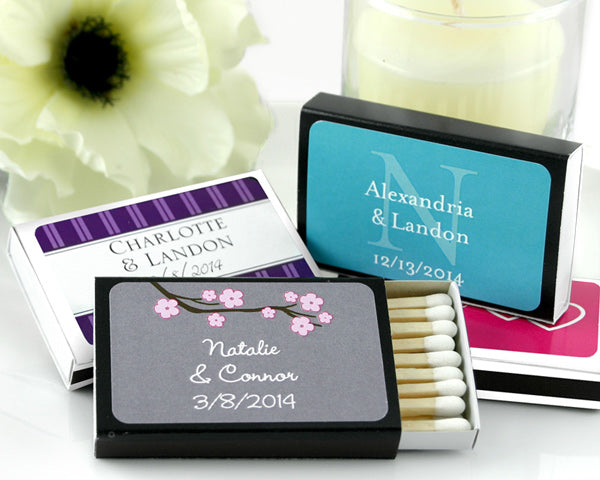 Personalized Matchboxes (Many Designs Available) (Set of 50)