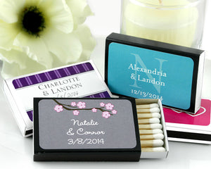 Personalized Matches (Many Designs Available-Set of 50)