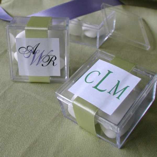 Monogram Acrylic Box